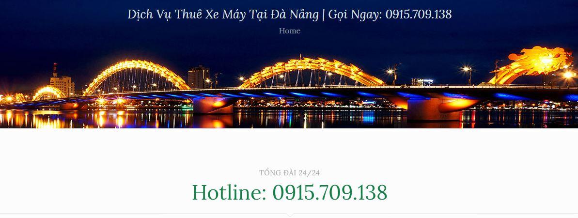 Thuê Xe Máy Đà Nẵng Điện Biên Phủ